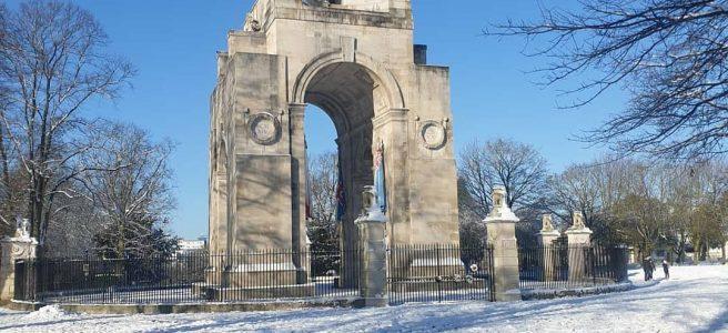 Snow Victoria Park