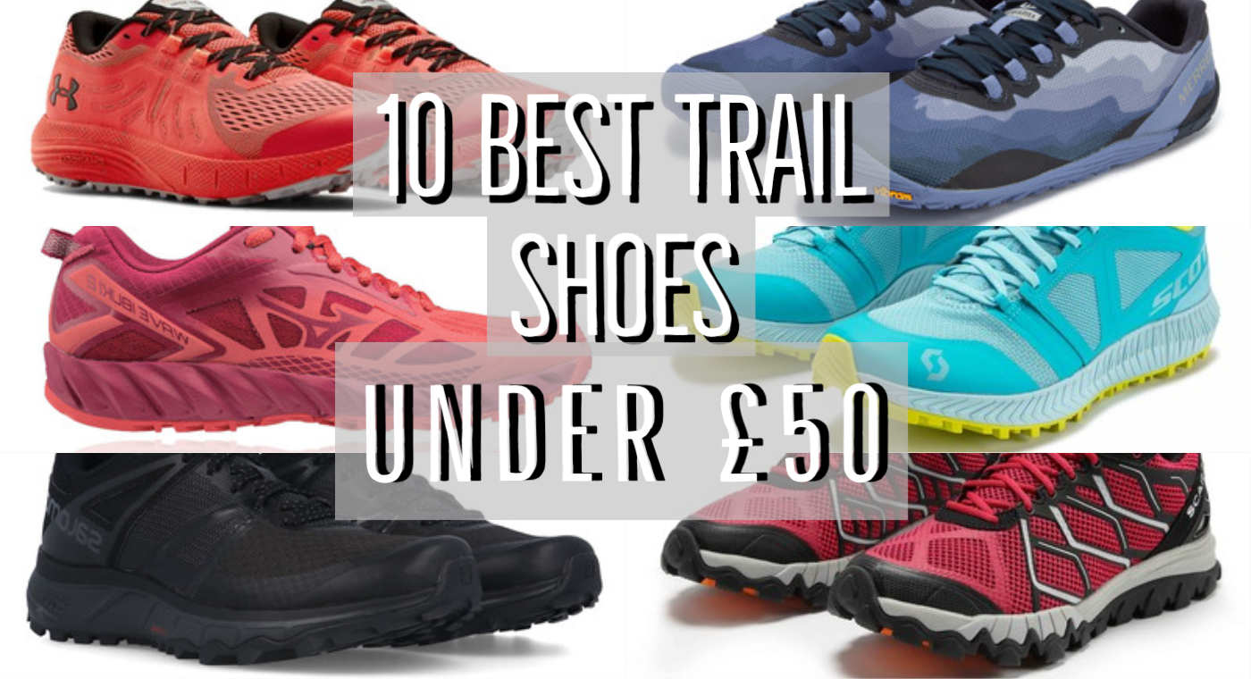 Best Trail Running Shoes Under £50