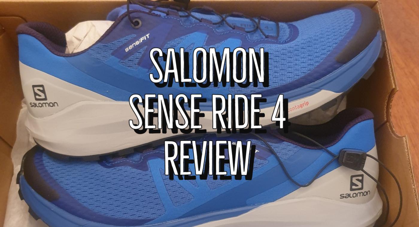 Salomon Sense Ride 4 Review UK