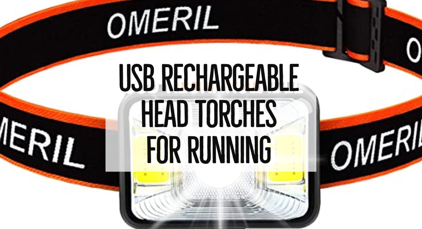 USB Rechargeable Head Torches For Running