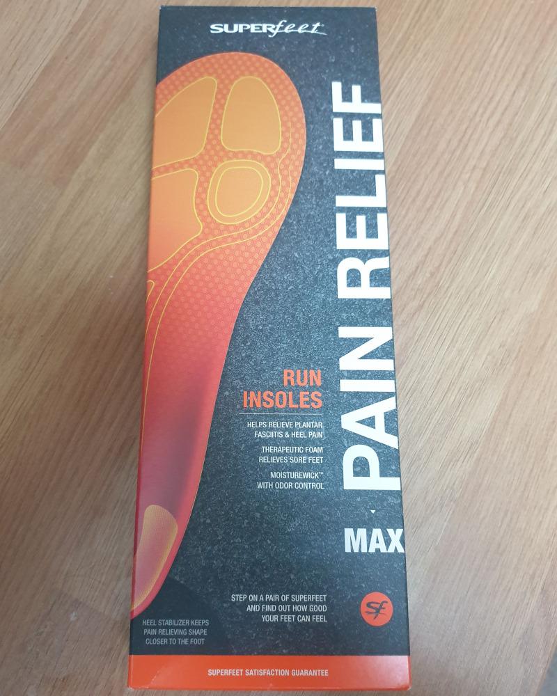 superfeet run pain relief box
